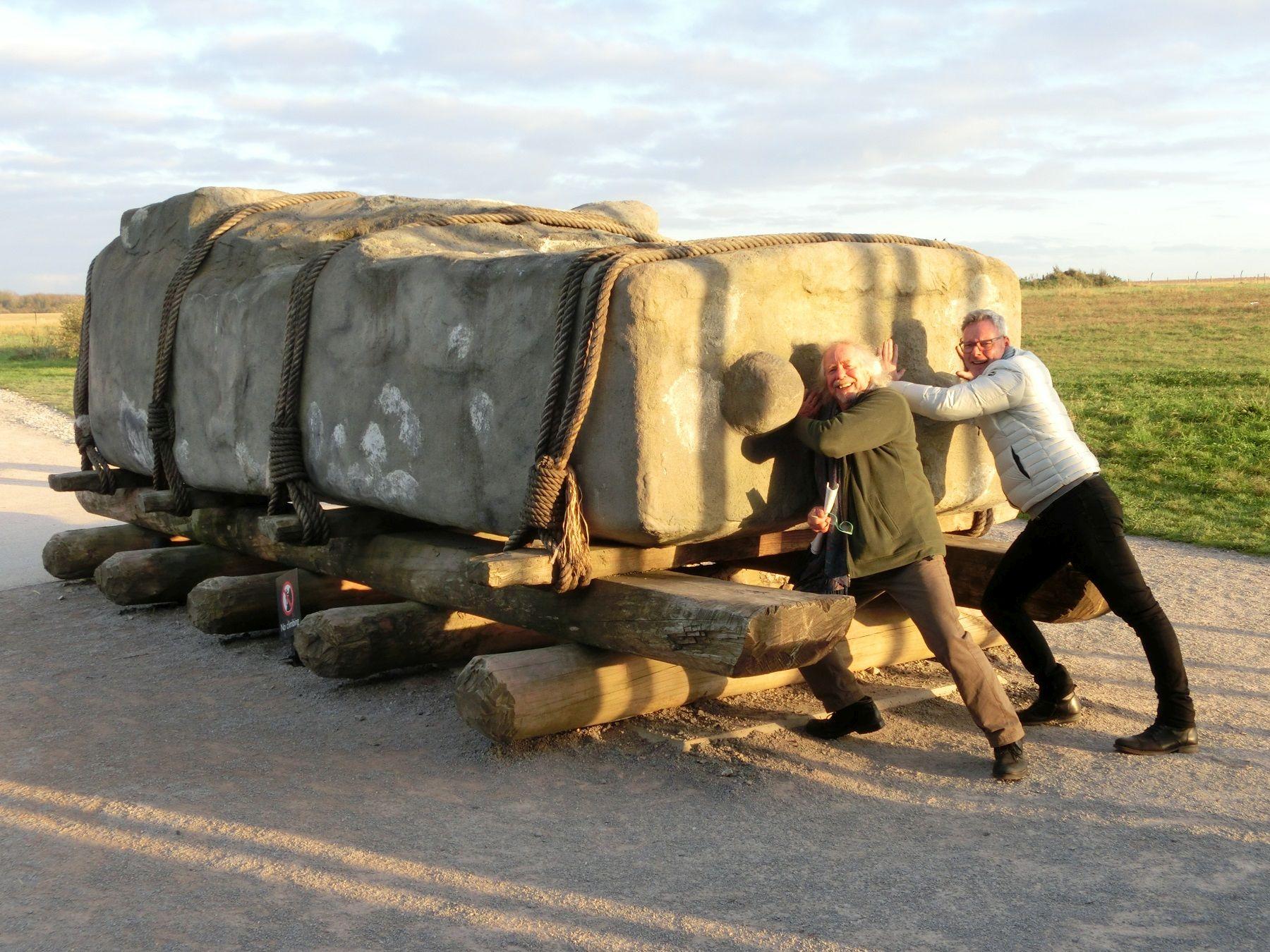 Stonehenge - ein logistisches Meisterwerk